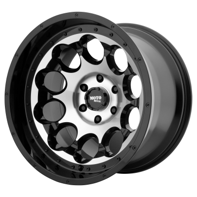 MOTO METAL ROTARY 20x9 6x139.70 GLOSS BLACK MACHINED (0 mm)