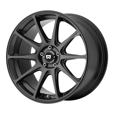 MOTEGI MR127 18x8 5x120.00 SATIN BLACK (38 mm)