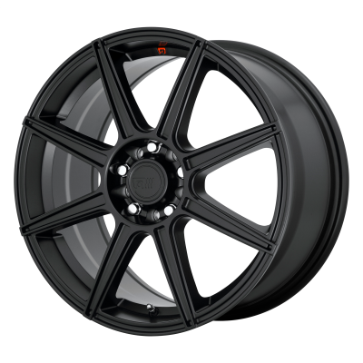 MOTEGI CS8 18x8 5x114.30/5x120.00 SATIN BLACK (45 mm)