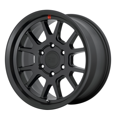 MOTEGI MT6 17x8.5 6x139.70 SATIN BLACK (18 mm)