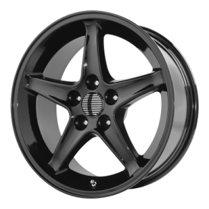 OE CREATIONS 102C 17x9 5x114.30 GLOSS BLACK (24 mm)