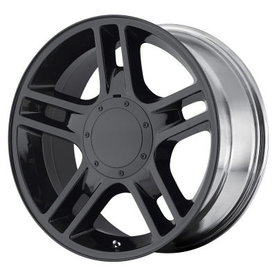 OE CREATIONS 108C 20x9 6x135.00 GLOSS BLACK (30 mm)