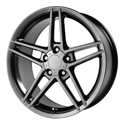 OE CREATIONS 117C 19x10 5x120.65 HYPER BLACK (79 mm)