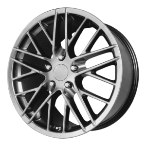 OE CREATIONS 121C 19x10 5x120.65 HYPER SILVER DARK (79 mm)