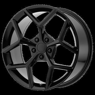OE CREATIONS PR126 20x9 5x120.00 GLOSS BLACK (30 mm)