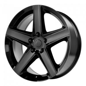 OE CREATIONS 129C 20x9 5x127.00 GLOSS BLACK (34 mm)