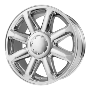 OE CREATIONS PR133 20x8.5 6x139.70 CHROME (31 mm)