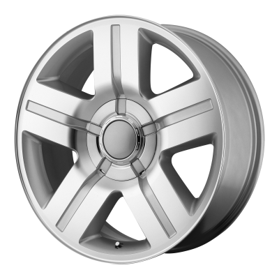 OE CREATIONS PR147 20x8.5 6x139.70 SILVER MACHINED (31 mm)