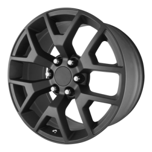 OE CREATIONS PR150 20x9 6x139.70 MATTE BLACK (27 mm)