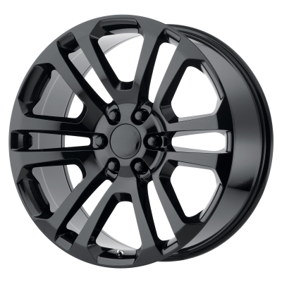 OE CREATIONS PR158 20x9 6x139.70 GLOSS BLACK (24 mm)
