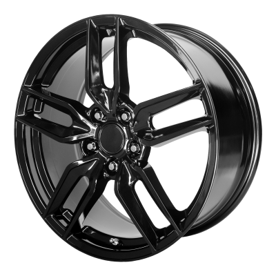 OE CREATIONS PR160 19x8.5 5x120.65 GLOSS BLACK (56 mm)
