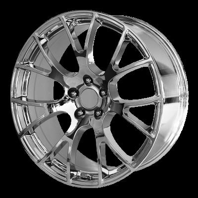 OE CREATIONS PR161 22x9.5 5x127.00 CHROME (35 mm)