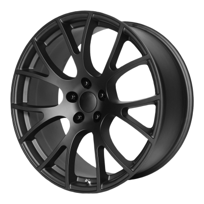 OE CREATIONS PR161 22x9.5 5x127.00 MATTE BLACK (35 mm)