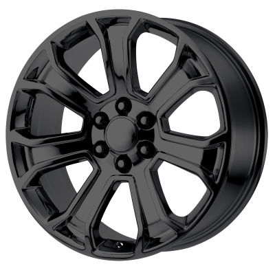 OE CREATIONS PR166 20x9 6x139.70 GLOSS BLACK (24 mm)