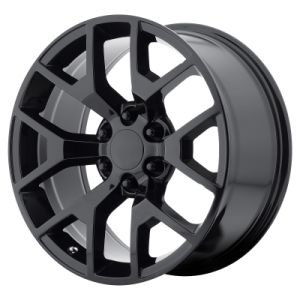 OE CREATIONS PR169 20x9 6x139.70 GLOSS BLACK (27 mm)