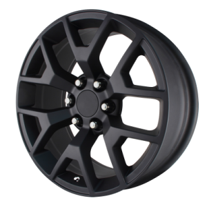 OE CREATIONS PR169 20x9 6x139.70 MATTE BLACK (27 mm)