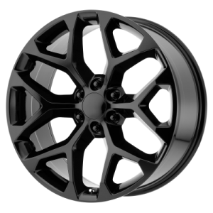 OE CREATIONS PR176 20x9 6x139.70 GLOSS BLACK (24 mm)