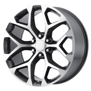 OE CREATIONS PR176 20x9 6x139.70 GUNMETAL MACHINED (24 mm)