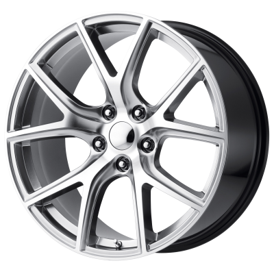 OE CREATIONS PR181 20x9 5x127.00 HYPER SILVER MACHINED (34 mm)