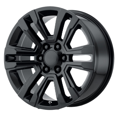 OE CREATIONS PR182 20x9 6x139.70 GLOSS BLACK (24 mm)