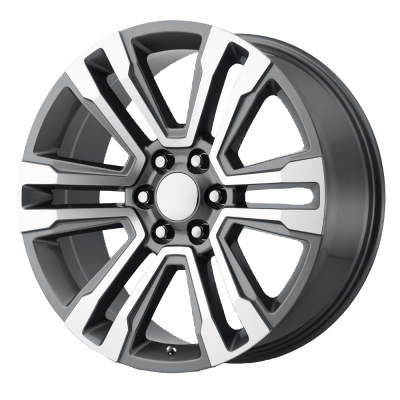 OE CREATIONS PR182 20x9 6x139.70 GUNMETAL MACHINED (24 mm)