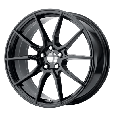 OE CREATIONS PR193 18x9 5x114.30 GLOSS BLACK (30 mm)
