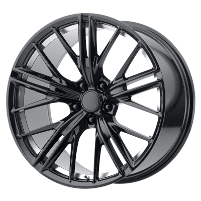 OE CREATIONS PR194 20x9 5x120.00 GLOSS BLACK MACHINED (30 mm)