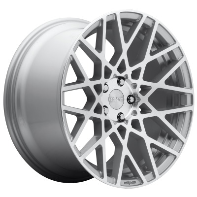ROTIFORM BLQ 19x8.5 5x120.00 GLOSS SILVER MACHINED (35 mm)  R110198521+35