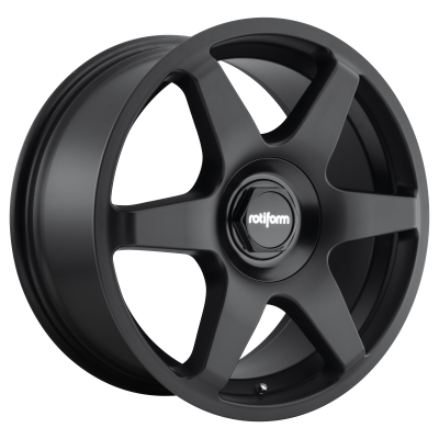 ROTIFORM SIX 19x8.5 5x100.00/5x112.00 MATTE BLACK (45 mm)
