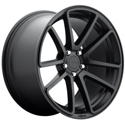 ROTIFORM SPF 19x8.5 5x100.00 MATTE BLACK (35 mm)  R122198579+35