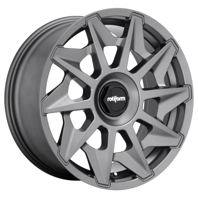 ROTIFORM CVT 19x8.5 5x112.00/5x114.30 MATTE ANTHRACITE (35 mm)  R128198507+35