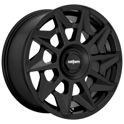 ROTIFORM CVT 19x8.5 5x112.00 MATTE BLACK (45 mm)