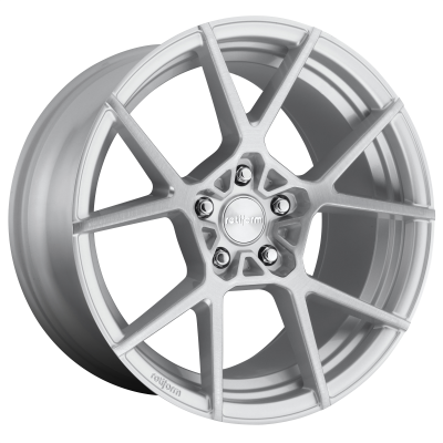 ROTIFORM KPS 19x8.5 5x112.00 GLOSS SILVER BRUSHED (45 mm)