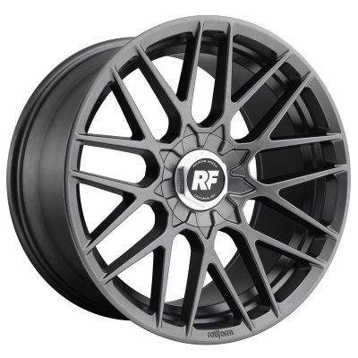 ROTIFORM RSE 17x8 5x100.00 MATTE ANTHRACITE (30 mm)  R141178080+30