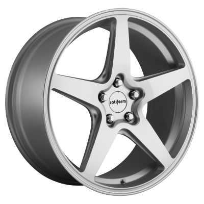 ROTIFORM WGR 18x8.5 5x120.00 GLOSS SILVER (35 mm)