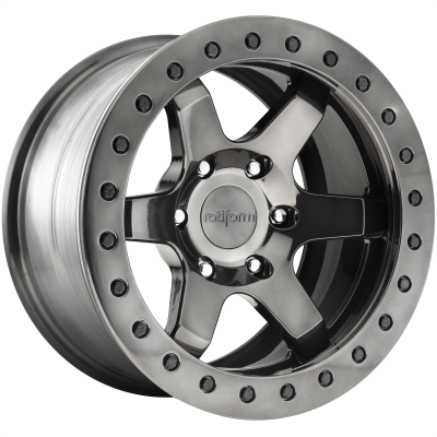 ROTIFORM SIX 20x9 6x139.70 MATTE BLACK (1 mm)