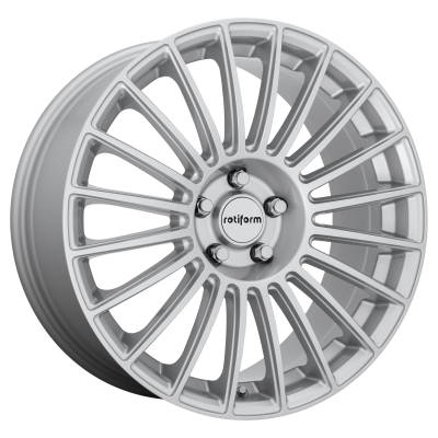 ROTIFORM BUC 19x8.5 5x112.00 GLOSS SILVER (45 mm)