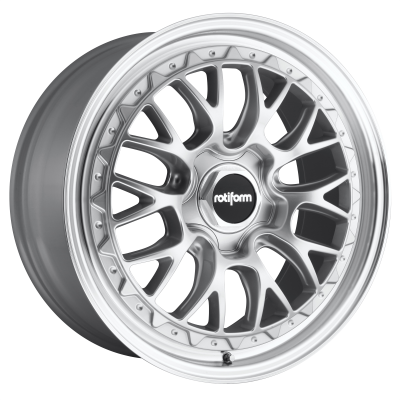 ROTIFORM LSR 19x8.5 5x100.00 GLOSS SILVER MACHINED (35 mm)  R155198579+35
