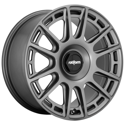 ROTIFORM OZR 19x8.5 5x114.30/5x120.00 MATTE ANTHRACITE (35 mm)