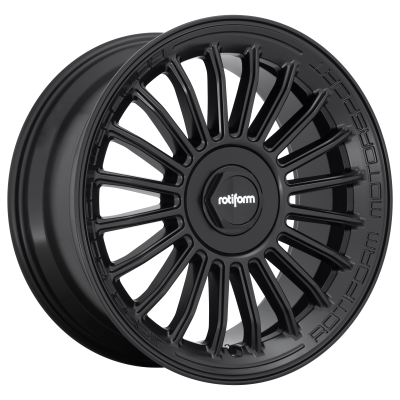 ROTIFORM BUC-M 19x8.5 5x114.30/5x120.00 MATTE BLACK (35 mm)