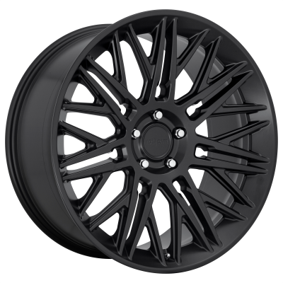 ROTIFORM JDR 22x10 5x130.00 MATTE BLACK (25 mm)  R164220029+25