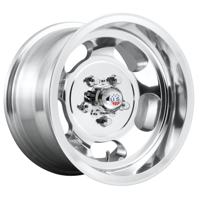 US MAG INDY 17x10 8x165.10 HIGH LUSTER POLISHED (-25 mm)