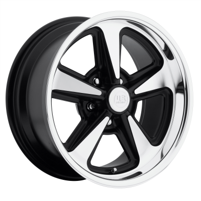 US MAG BANDIT 18x9 5x120.65 MATTE BLACK MACHINED (8 mm)