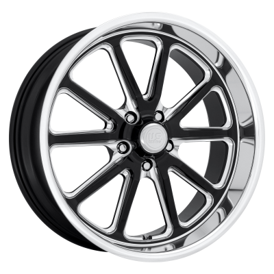 US MAG RAMBLER 20x9.5 5x127.00 GLOSS BLACK MILLED (1 mm)