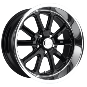 US MAG RAMBLER 22x9 5x127.00 GLOSS BLACK (1 mm)