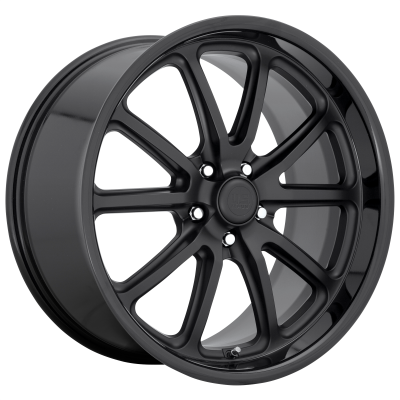 US MAG RAMBLER 20x8.5 5x120.00 GLOSS BLACK MATTE BLACK (32 mm)