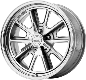 AMERICAN RACING 427 SHELBY COBRA 15x7 5x127.00 TWO-PIECE POLISHED (-25 mm)