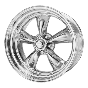 AMERICAN RACING TORQ THRUST II 18x8 5x127.00 POLISHED (-12 mm)