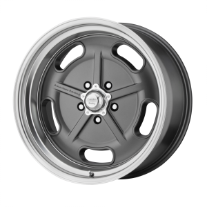 AMERICAN RACING SALT FLAT 20x9.5 5x127.00 MAG GRAY W/ DIAMOND CUT LIP (0 mm)