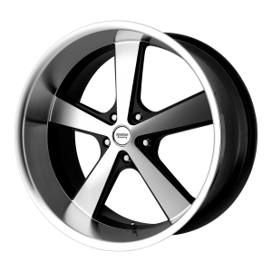 AMERICAN RACING NOVA 20x8.5 5x127.00 GLOSS BLACK MACHINED (0 mm)